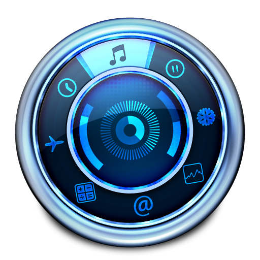 Aqua Dashboard Icon