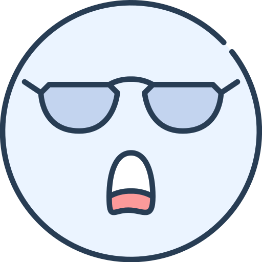 Cool, Emoji, Emotion, Emotional, Face Icon Free Of Emoji