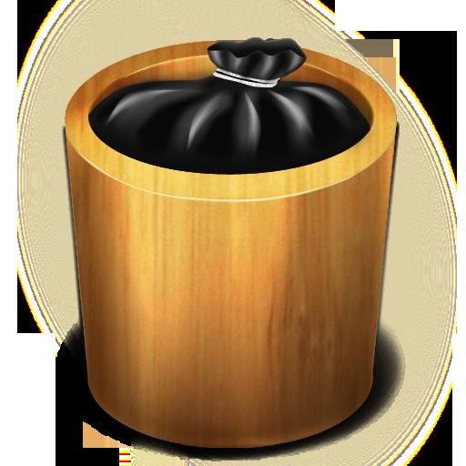Trash Wood Full Icon Trash Iconset
