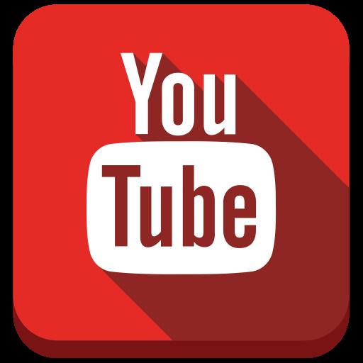 Social Media Video Glyph Icon