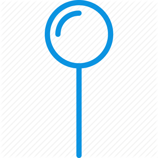 Coordinate, Pin, Pointer Icon
