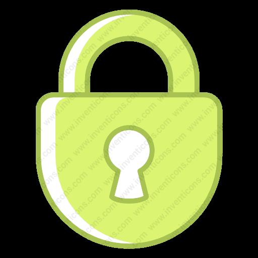 Download Lock Icon Inventicons