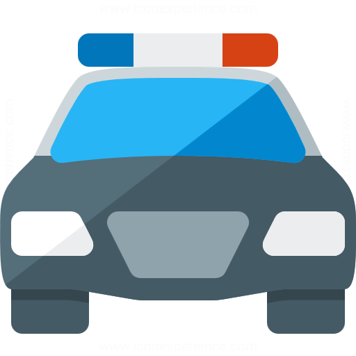 Iconexperience G Collection Police Car Icon