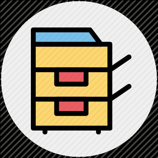 Copier, Copy Machine, Electronics, Machine, Photocopy, Technology Icon