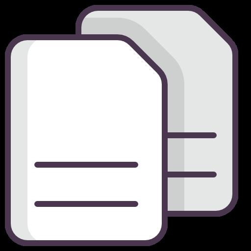 Copier, Coller Du Texte Gratuit De Line Mix Icons