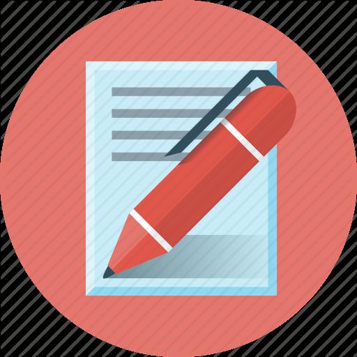Blog, Copywriting, Paper, Pen, Write, Writing Icon