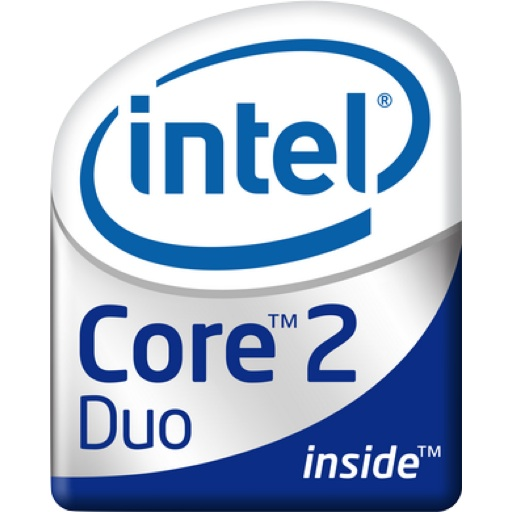 Intel Core Duo Logo Icon