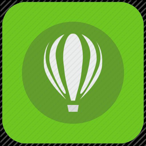 Corel, Draw, Editor, Graphics, Program, Vectorial Icon