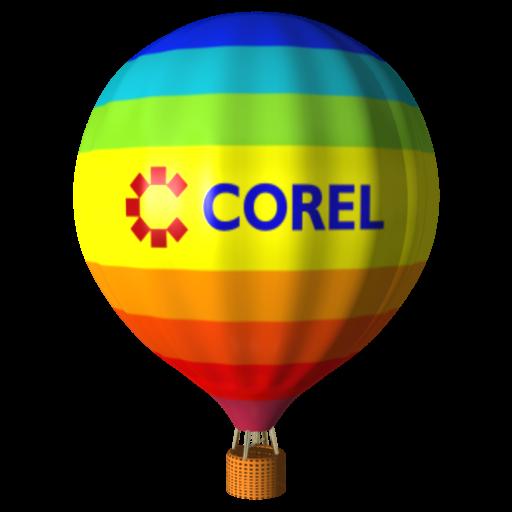 Corel Draw Balloon Icon