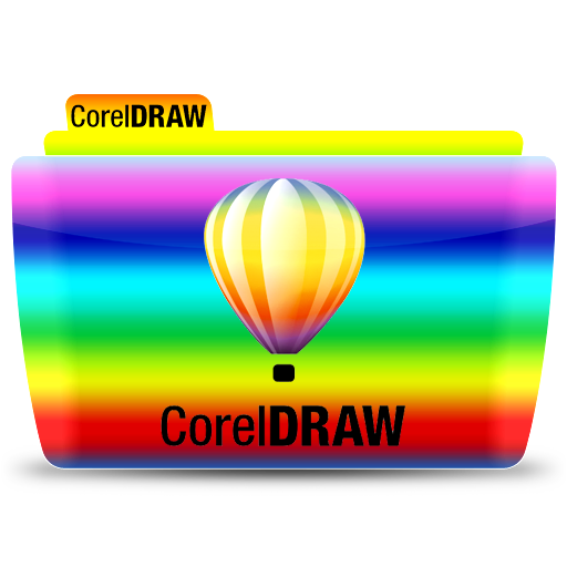 Coreldraw, Folder, Icon Free Of Colorflow Icons