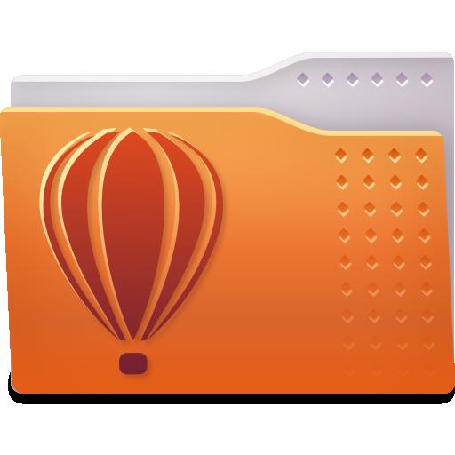 Places Folder Coreldraw Icon Fs Ubuntu Iconset