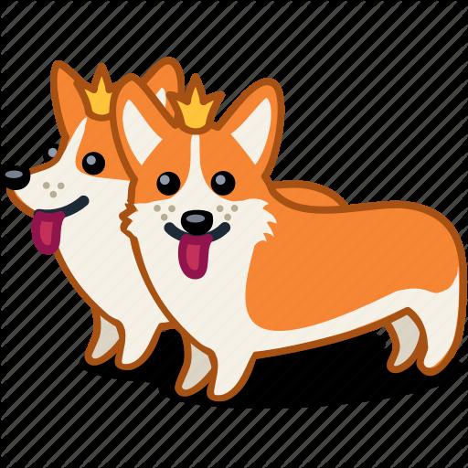 Corgi, Crown, Dog, Royal, Twn