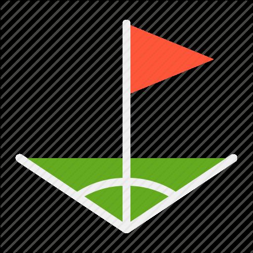 Corner, Field, Flag, Soccer, Soccer Field Corner Icon