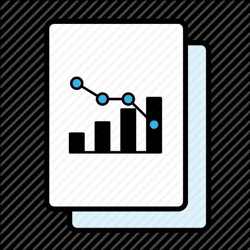 Bar Graph, Correlation, Decline, Graph, Line Graph Icon