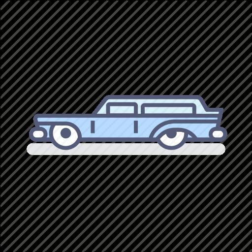 Car, Hearse, Van Icon
