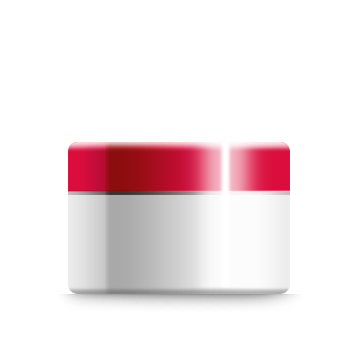 Cream Icon Cosmetic Iconset Dooffy