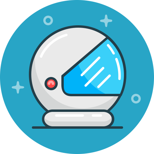 Security, Safety, Helmet, Space, Astronaut, Cosmos Icon