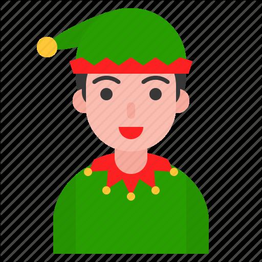 Boy, Christmas, Cosplay, Elf, Party, Santa, Winter Icon
