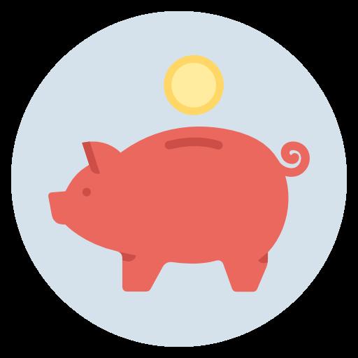 Piggy, Bank, Savings, Money, Investment, Budget, Finance Icon Free