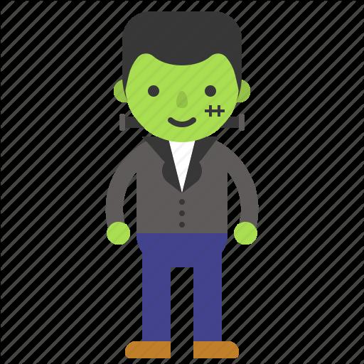 Avatar, Character, Costume, Frankenstein, Halloween, Zombie Icon