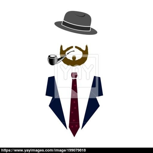Gentleman Icond Man Icon Vector