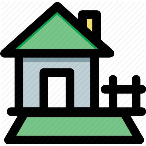 Cottage, Country House, Home, Hut, Lodge Icon