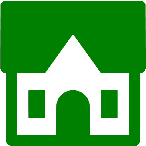 Green Cottage Icon