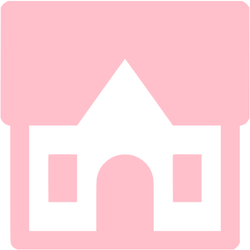Pink Cottage Icon