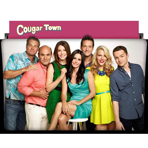 Cougar Town Tv Series Folder Icon