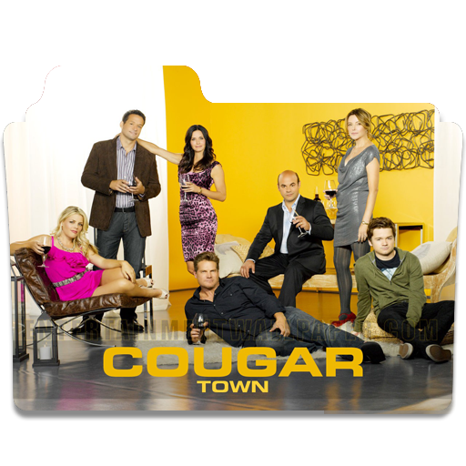 Cougar Town Folder Icon