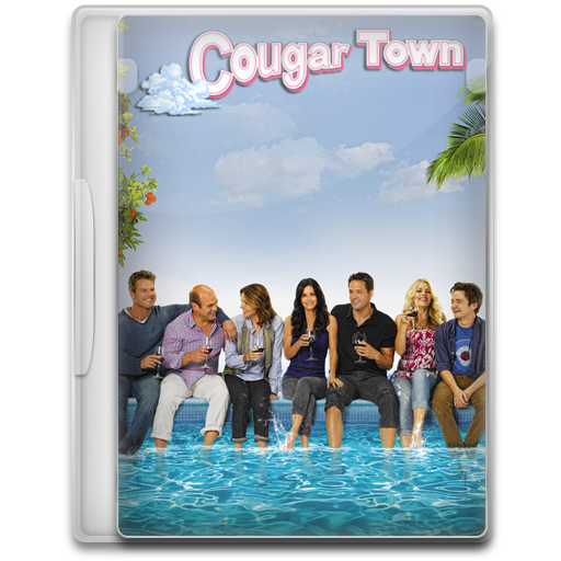 Cougar Town Icon Tv Show Mega Pack Iconset