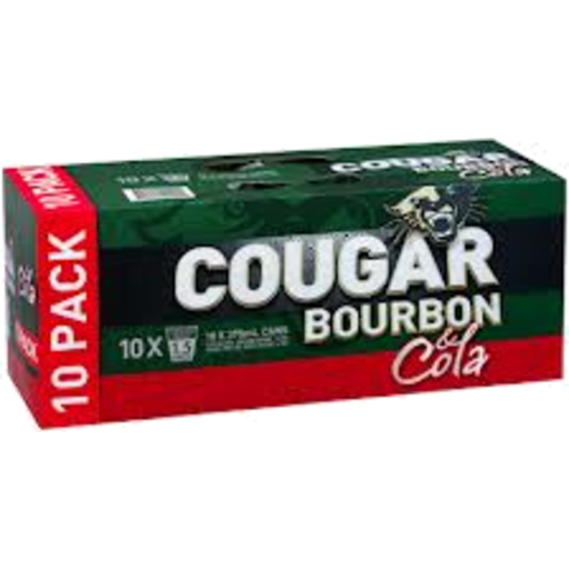 Cougar Cola Can Pack