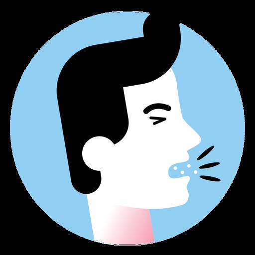 Cough Sickness Symptom Icon