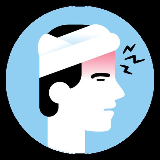 Headache Sickness Symptom Icon