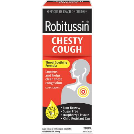 Robitussin Expectorant Chesty Cough