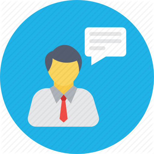 Communication, Consultant, Counseling, Customer Support, Talking Icon