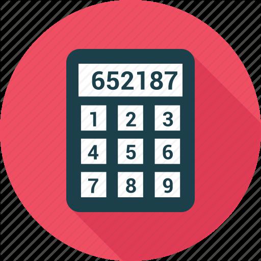 Calc, Calculate, Calculation, Calculator, Count Icon