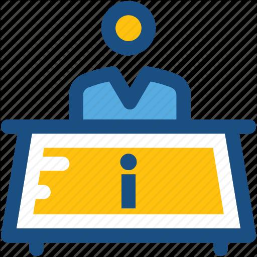 Front Desk, Help Desk, Information Counter, Information Desk