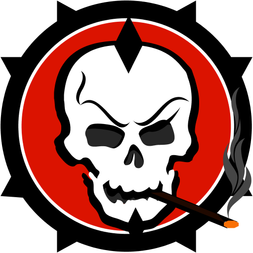 Badass Skull Counter Strike Source Sprays