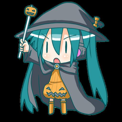 Hatsune Miku Halloween Counter Strike Source Sprays
