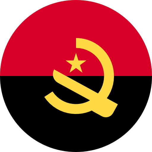Angola, Flags, Country Icon