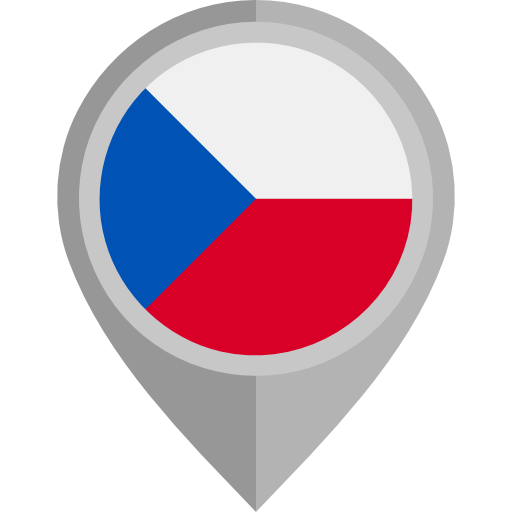 Czech Republic, Nation, World, Flags, Flag, Country Icon