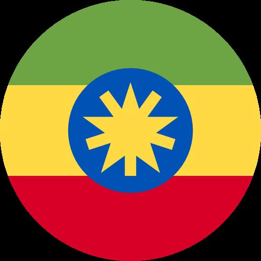 Ethiopia, Flags, Country Icon