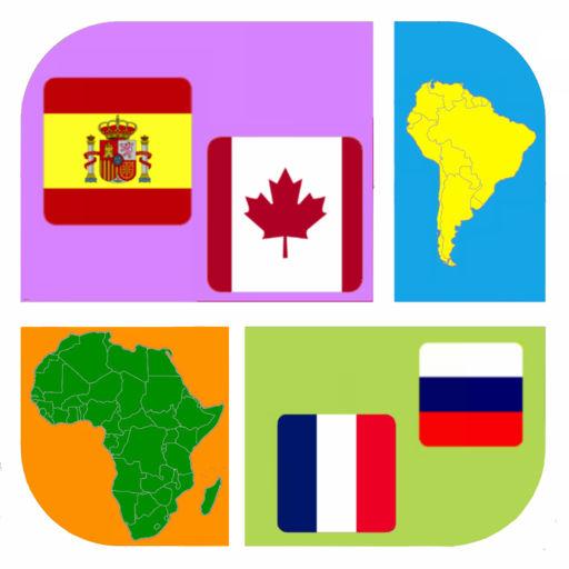 Flag Country Icon Quiz