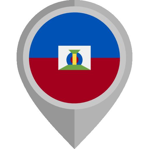 Haiti, Flag, Country Icon