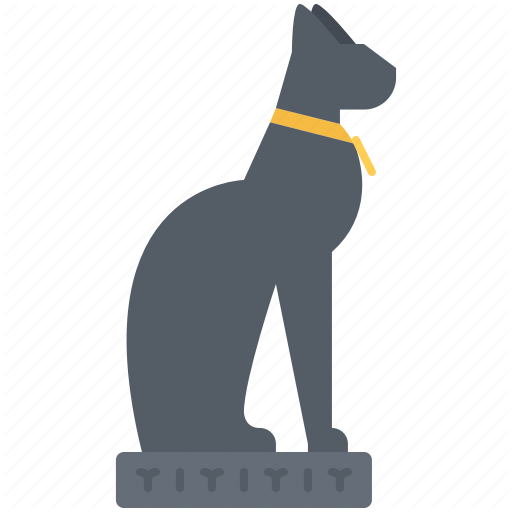 Cat, Civilization, Country, Culture, Egypt, Hieroglyph, Statue Icon