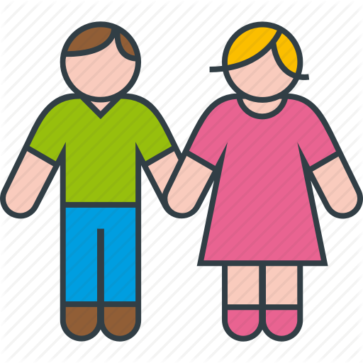 Couple, In, Love, Man, Woman Icon