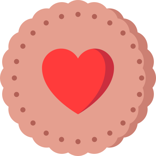 Valentines Cookie Png Icon