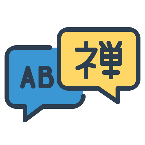 Communicate, Courses, Language, Learn, Message Bubble Icon Free