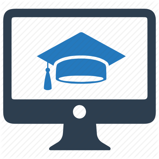 Courses, E Learning, Learning, Online Icon